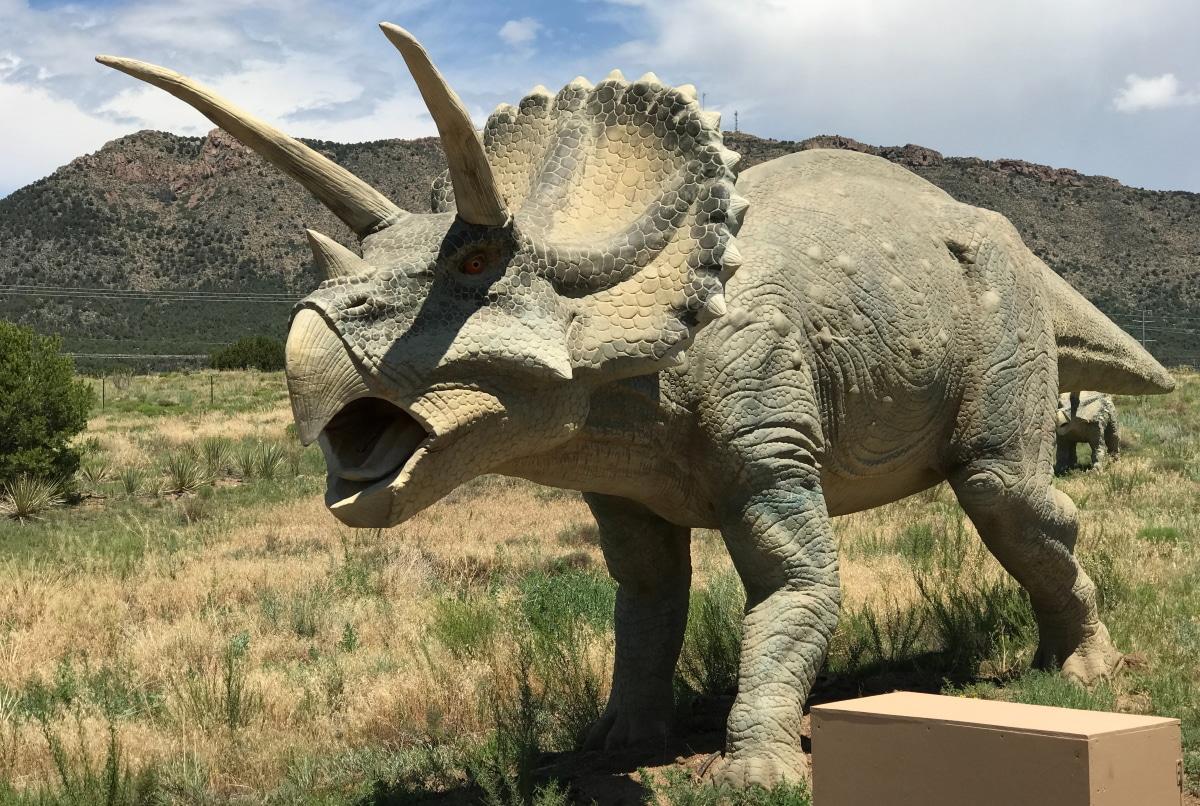Dieta y alimentación que tenía el Triceratops