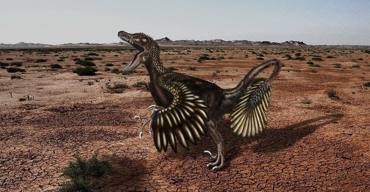 El velociraptor estaba cubierto de plumas