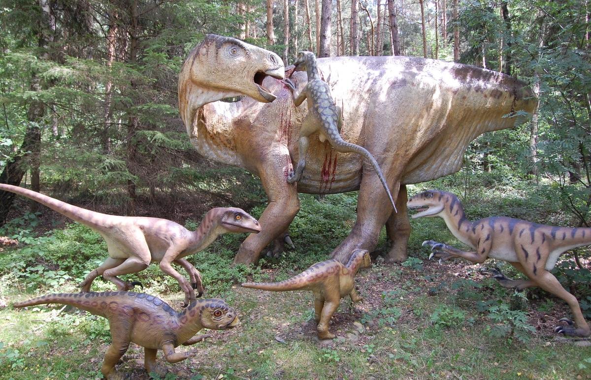 El iguanodon fue un dinosaurio muy común en Europa