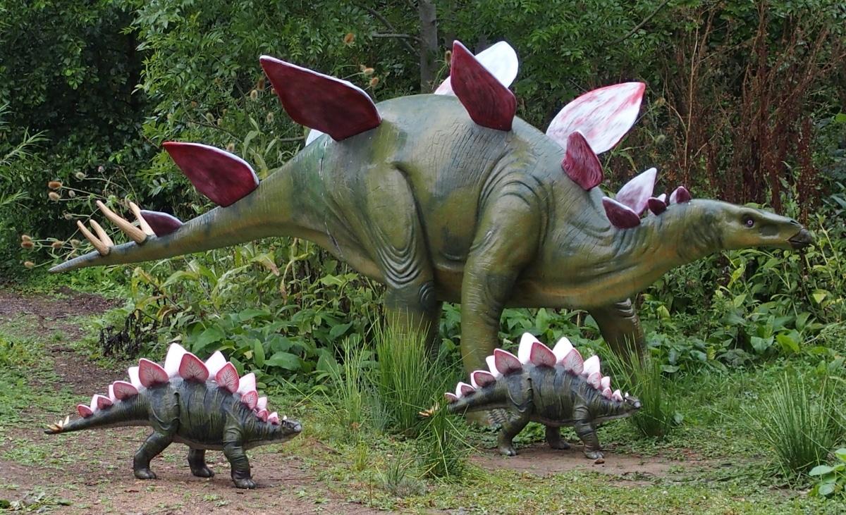 El Stegosaurus pesaba alrededor de 4'5 toneladas