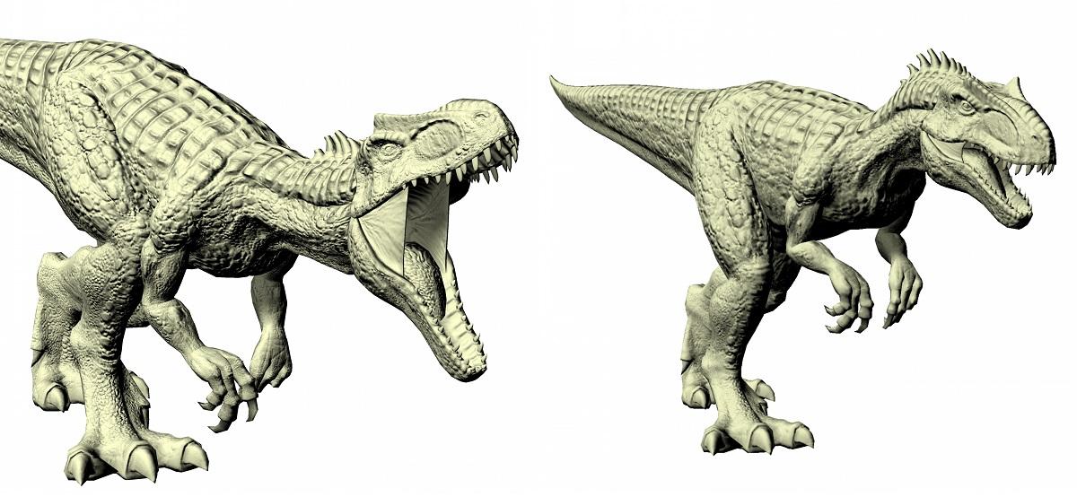 El Allosaurus era un depredador que no le importaba el tamaño de sus presas
