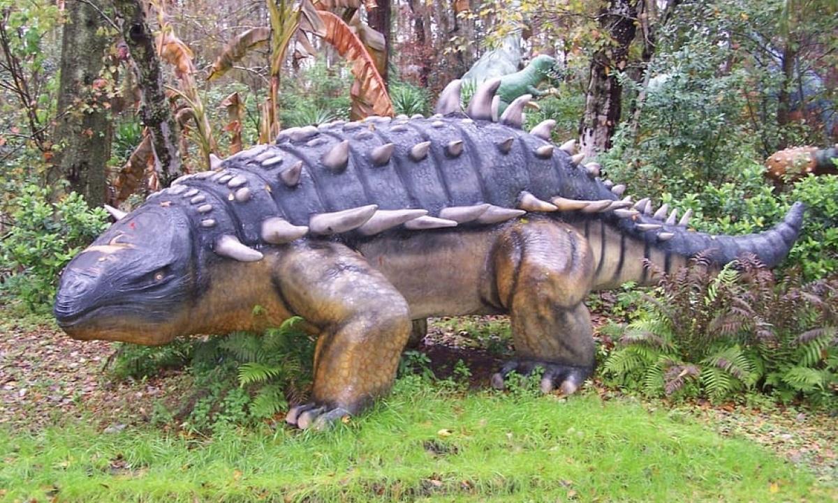 El anquilosaurio pesó unas 6 toneladas y pudo llegar a medir hasta 9 metros de longitud