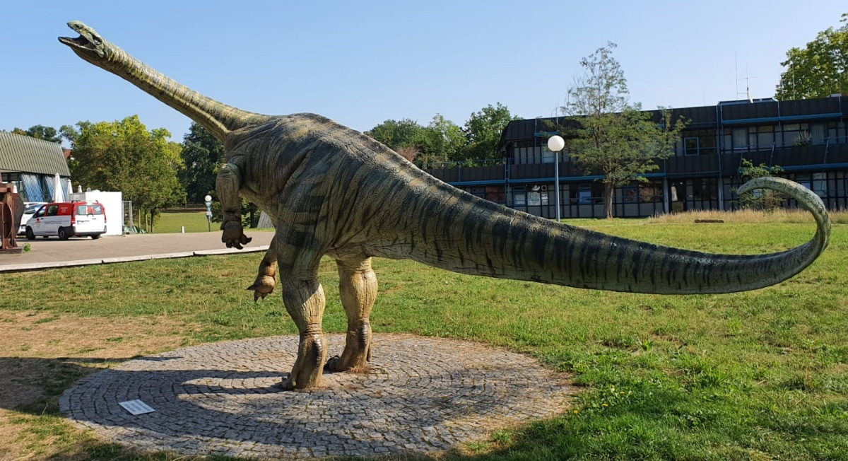 El Plateosaurus fue de los primeros animales endotérmicos