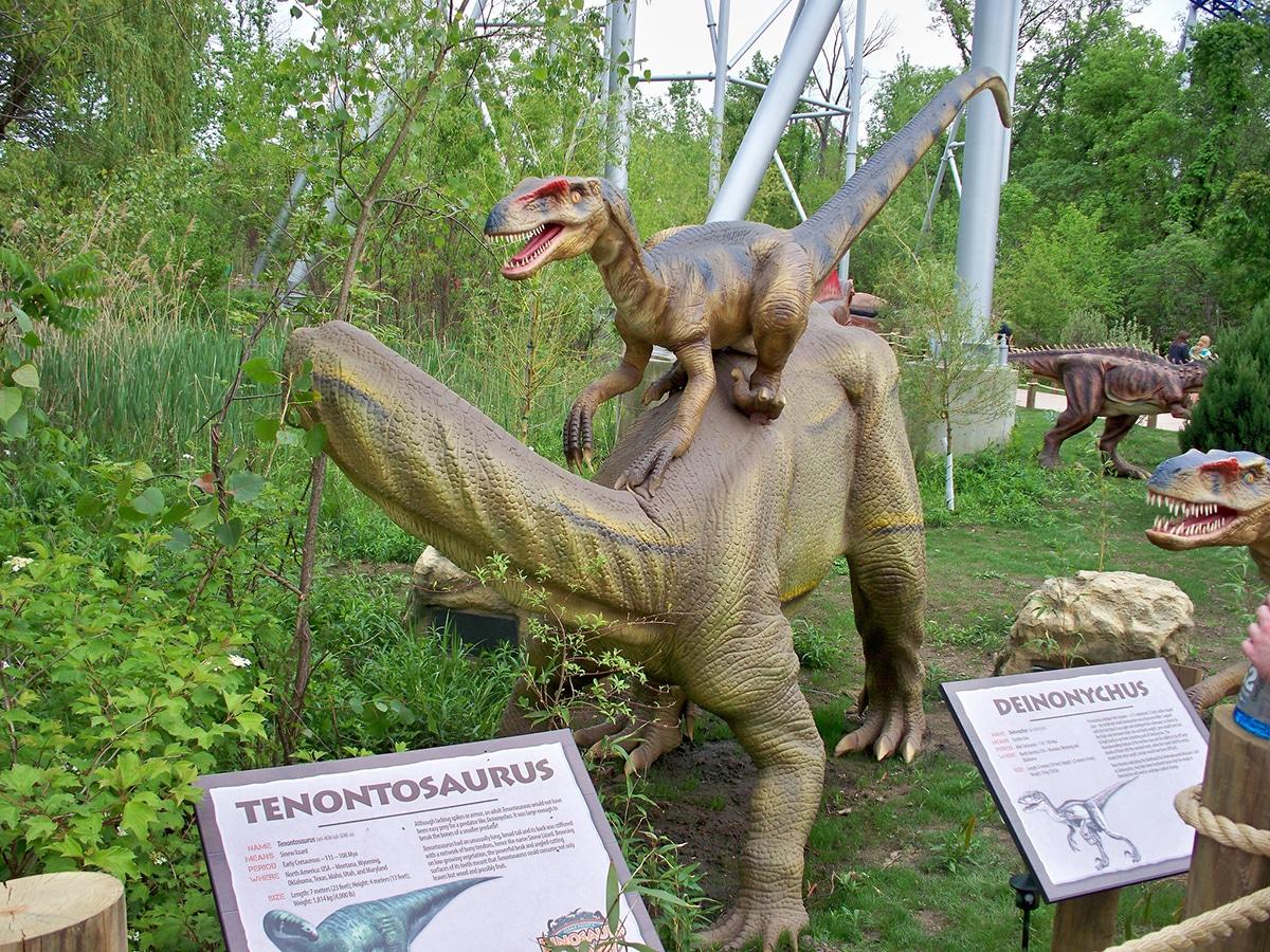 El Deinonychus probablemente cazaba en manada