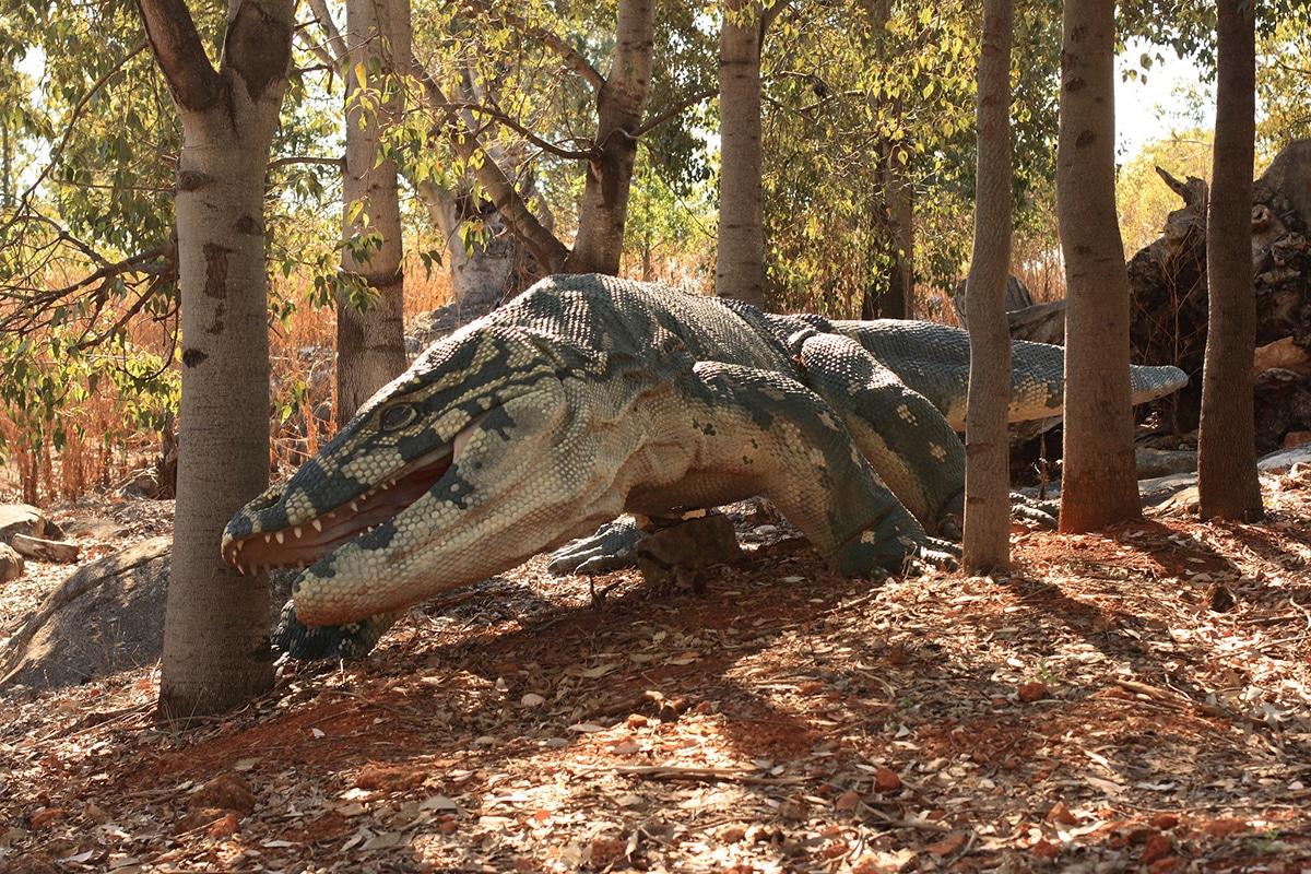 Megalania fue el lagarto terreste más grande que haya existido.