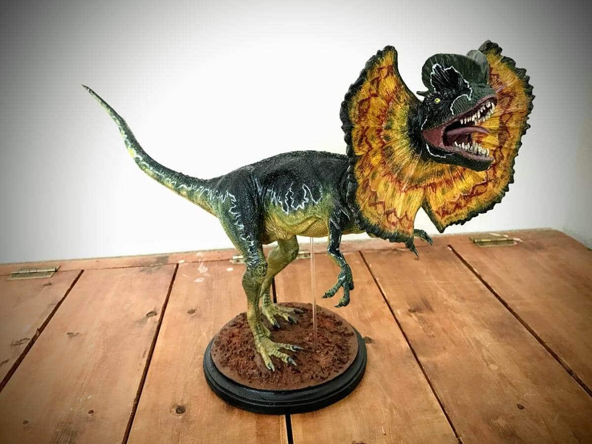El Dilophosaurus vivó durante el período del Juásico