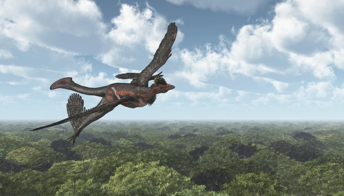 dinosarios que vuelan