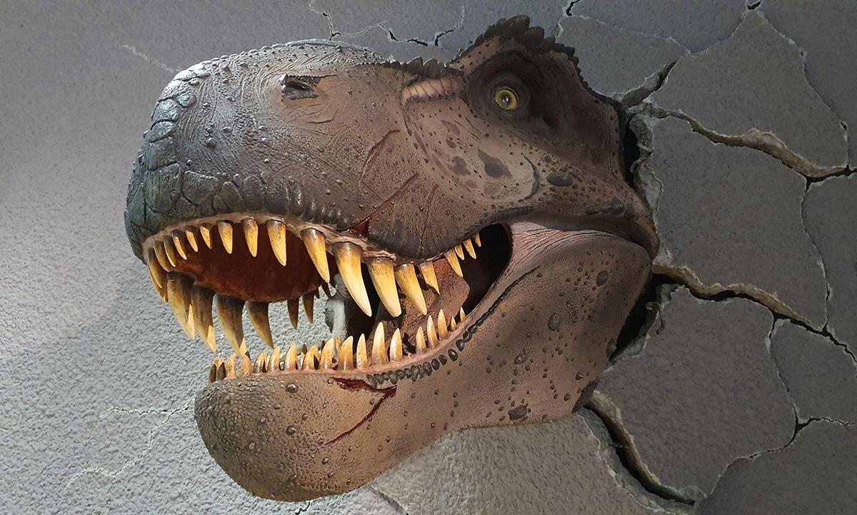 El Terópodo más conocido es el Tiranosaurio