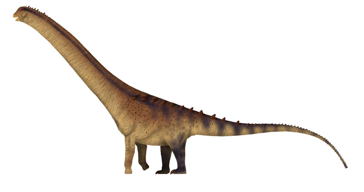 El dinosaurio más grande era el Patagotitan