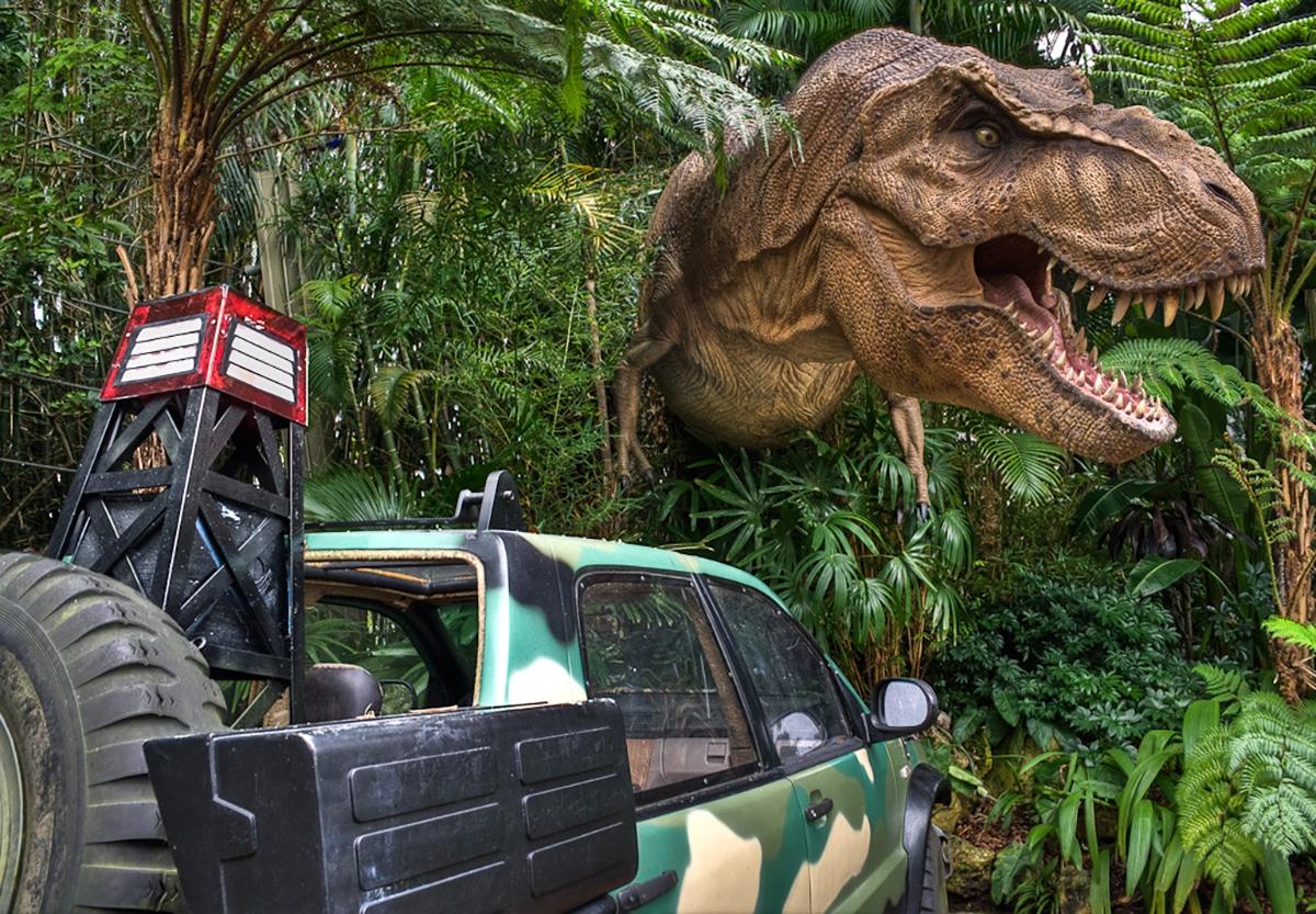 Entre los dinosaurios más famosos destaca el tiranosaurio rex
