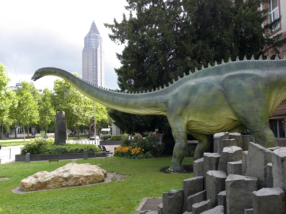 La cola del diplodocus era similar a un látigo